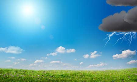 moody sky: Il tempo cambia radicalmente