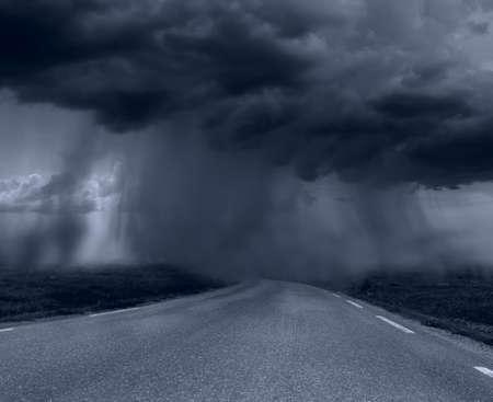 hurricane weather: bad weather Stock Photo