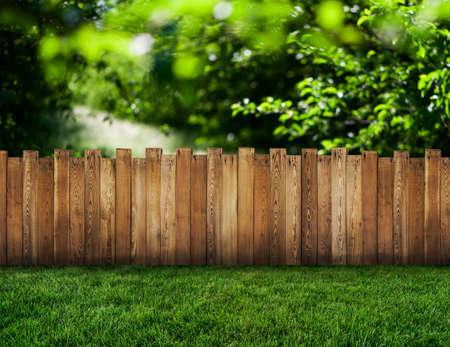 valla del jardín