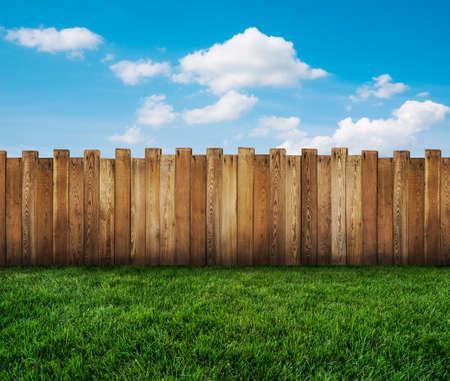 ogrodzenia ogród Zdjęcie Seryjne