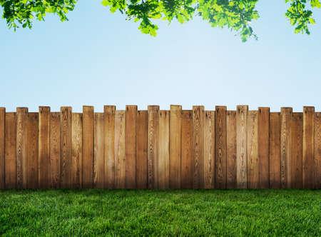 garden fence photo