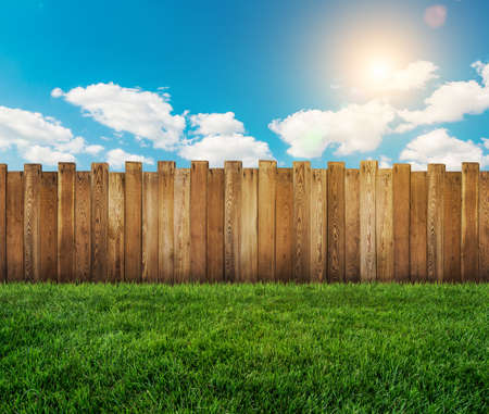 picket fence: garden fence
