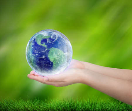 reusing: save the Earth Stock Photo