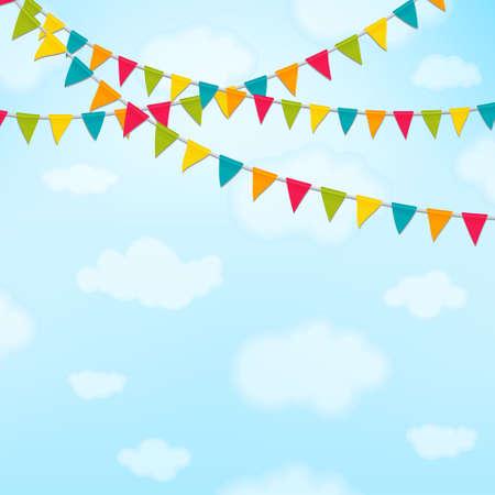 celebration party: celebration background vector