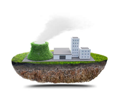nuclear power station: green factory