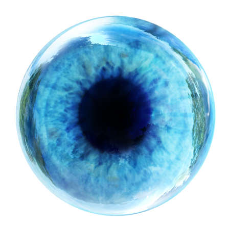 Blue eye Standard-Bild - 30796746