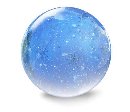 Snow Globe Banque d'images