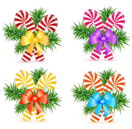 lollypop: christmas lollypop vector