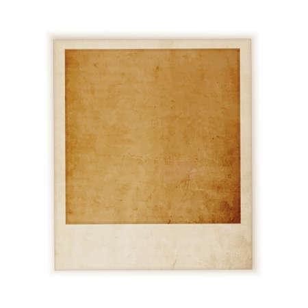 polaroid: grunge r�tro photo