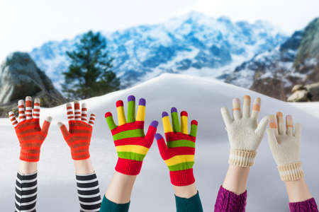 mittens: winter mittens and gloves