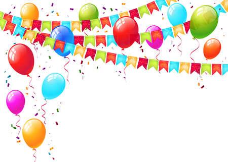 ünneplés: ünneplés háttér vektor