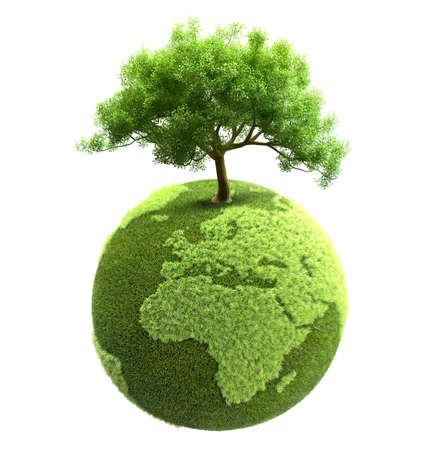recycling ecology concept Standard-Bild