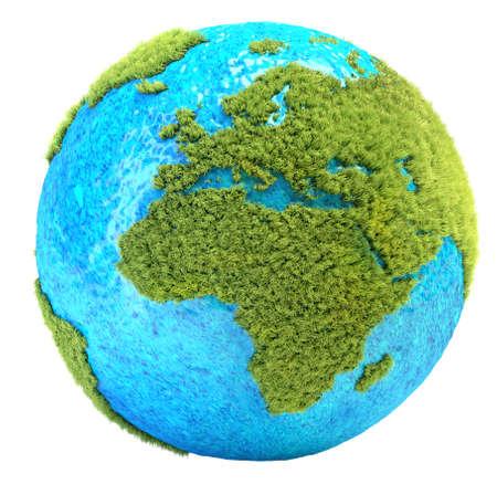 europa: grass Earth