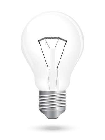 lamp vector: bulb lamp vector