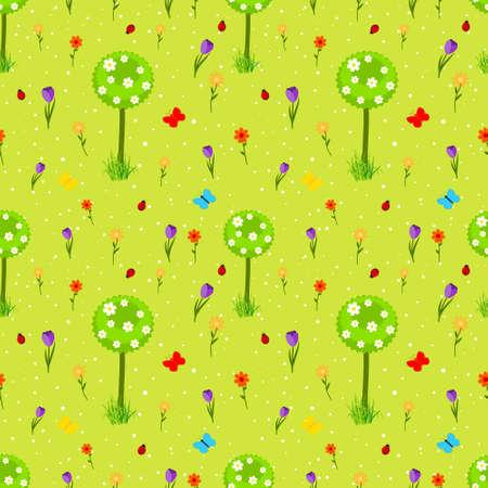 flowers background: la primavera de flores de fondo