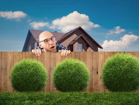 curious neighbor Imagens