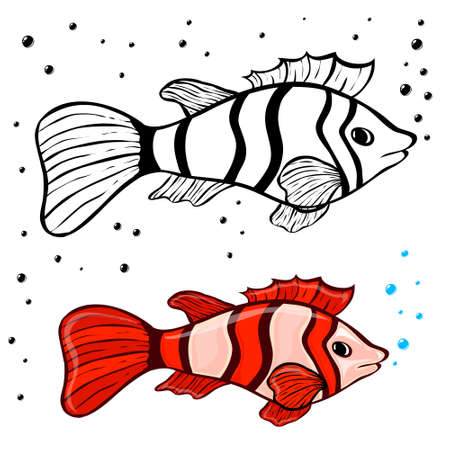 coloring pages: fish coloring pages for kids
