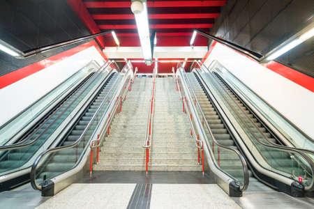 metro: metro station
