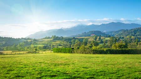 spain: spain countryside landscape Stock Photo