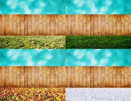 backyard: four seasons backyard