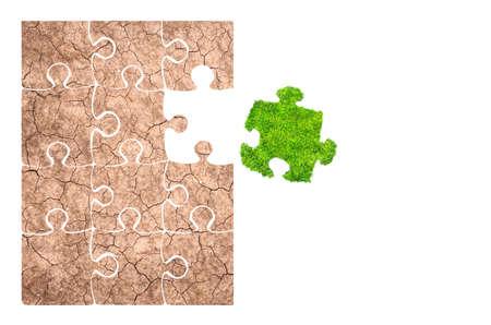 soil: grass and soil 3D rendering