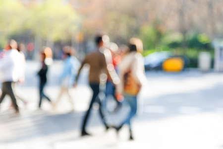 bewegung menschen: Masse der Leute  Lizenzfreie Bilder