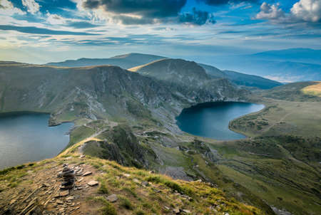 bulgaria rila lakes mountains landscape