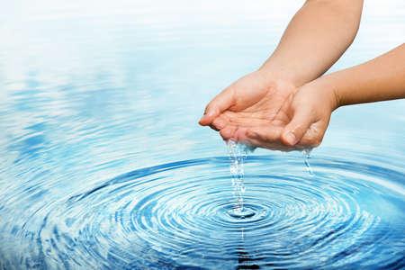 natuur waterconcept