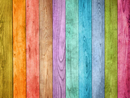 colored wood background Stockfoto