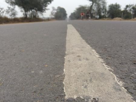 love pic: A scene of road divider