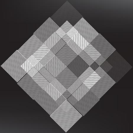 Abstrait de texture gris clair, design concept Mirage, illustration vectorielle. Banque d'images - 98722989