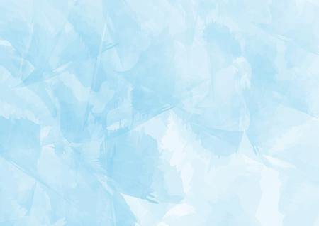 Fond aquarelle bleu, style vintage avec un espace pour le texte en vente, conception pour papier peint et texture, illustration vectorielle. Banque d'images - 98723452