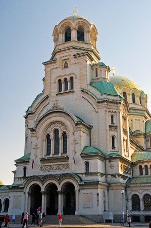 nevsky: Alexander Nevsky Cathedral, Sofia, Bulgaria
