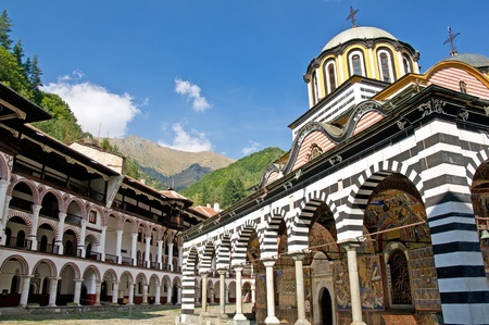 Monastery of Saint Ivan of Rila, Bulgaria photo