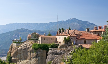 thessalia: Holy Monastery of St. Stephen. Meteora, Thessalia, Greece