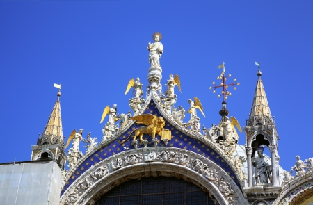 San Marco Cathedral, Venice, Italy photo