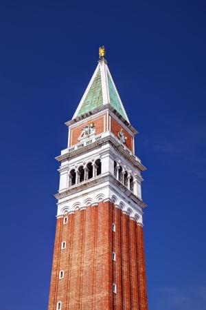 st  mark s: Campanile di San Marco s � il campanile della Basilica di San Marco a Venezia s, l'Italia, che si trova in Piazza San Marco � uno dei simboli pi� riconoscibili della citt� Archivio Fotografico
