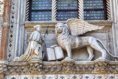 聖マルコ、ヴェネツィアのシンボルの翼ライオン