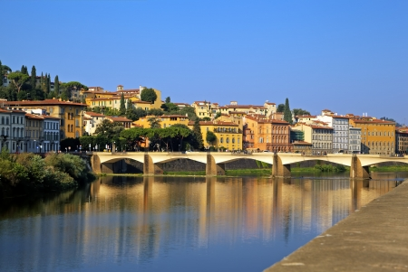 View of Arno river  Florence, Italy Stock Photo - 15796013