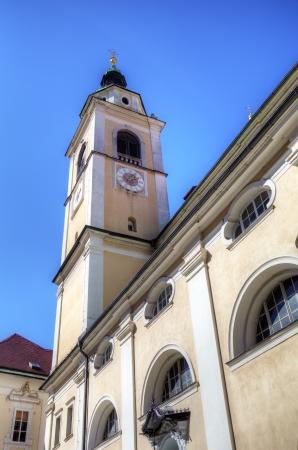 campanille: Campanille of Ljubljana Cathedral  Slovenia