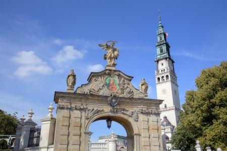 ヤスナの強羅修道院チェンストコバ、ポーランド 写真素材