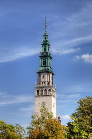 campanille: Campanille of Jasna Gora Monastery  Czestochowa, Poland Stock Photo