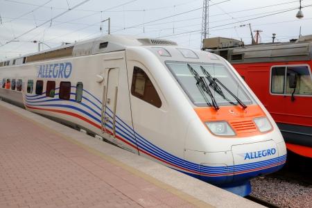 allegro: Allegro train  Saint Petersburg, Russia - Helsinki, Finland