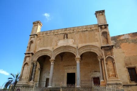catena: Santa Maria della Catena church  Palermo, Sicily, Italy