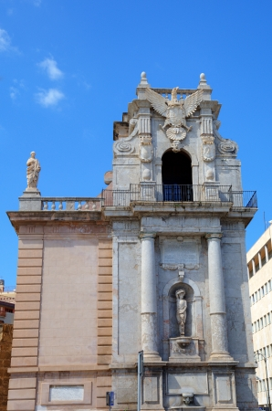 felice: Porta Felice in Palermo  Sicily, Italy