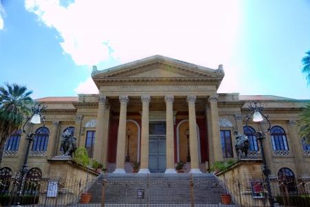テアトロ Massimo - シチリア島、パレルモのオペラ座