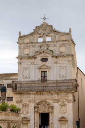 episcopal: S  Lucia alla Badia church  in Syracusa   Sicily, Italy