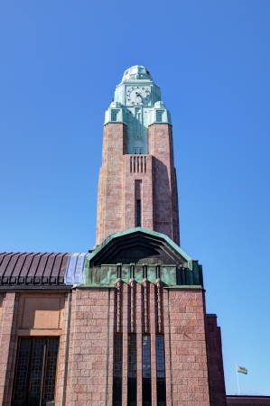 Central station of Helsinki, Finland photo