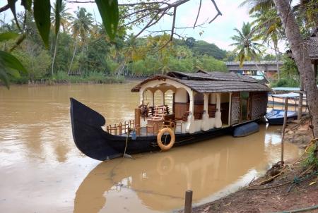 kerala backwaters: Kerala backwaters  Kerala, India Stock Photo