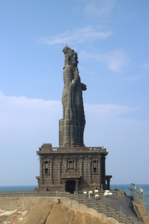 Thiruvalluvar statue  Kanyakumari, Tamilnadu, India  photo